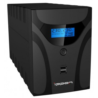 ИБП Ippon Smart Power Pro II Euro 1600 960Вт 1600ВА черный