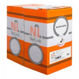 Кабель сетевой NetLink NL-CU UTP 4PR AWG CAT5e внутренний