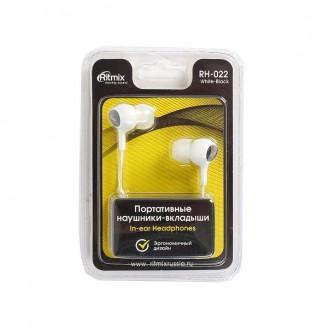 Наушники для смартфонов RITMIX RH-022