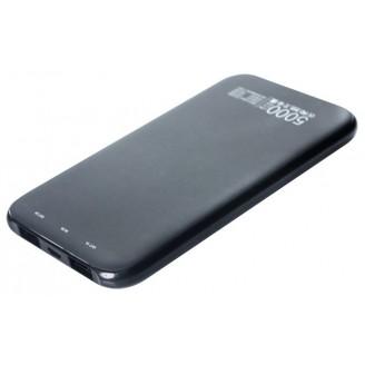 Внешний аккумулятор Partner Slim  DC5V/2.1A, 5000mAh