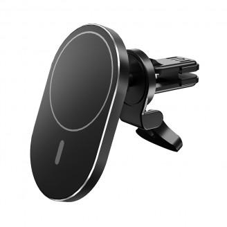 Беспроводное зарядное устройство держатель для телефона Olmio Magnet Safe