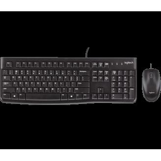 Комплект проводной (клавиатура + мышь) Logitech MK120