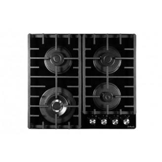 Встраиваемая варочная поверхность газовая il Monte BH-604G Black Luxe