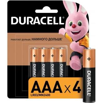 Батарейка DURACELL AAA/4 LR3