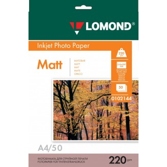 Фотобумага Lomond A4 0102144