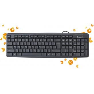 Клавиатура проводная Defender ELEMENT HB-520