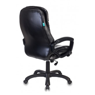 Кресло руководителя Бюрократ T-9950LT/BLACK сиденье черный