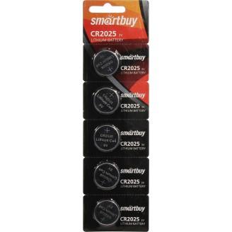 Батарейка SmartBuy CR2025/5В SBBL-2025-5B