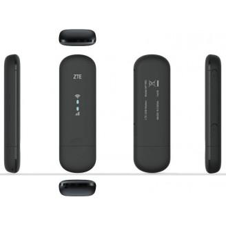 Модем 2G/3G/4G ZTE MF79RU micro USB Wi-Fi Firewall +Router внешний черный