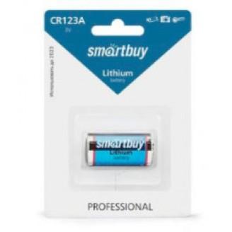 Батарейка SmartBuy CR123A SBBL-123A-1B