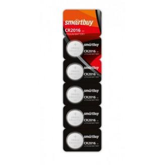 Батарейка SmartBuy CR2016/5B SBBL-2016-5B