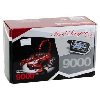 Автосигнализация RED SCORPIO 9000