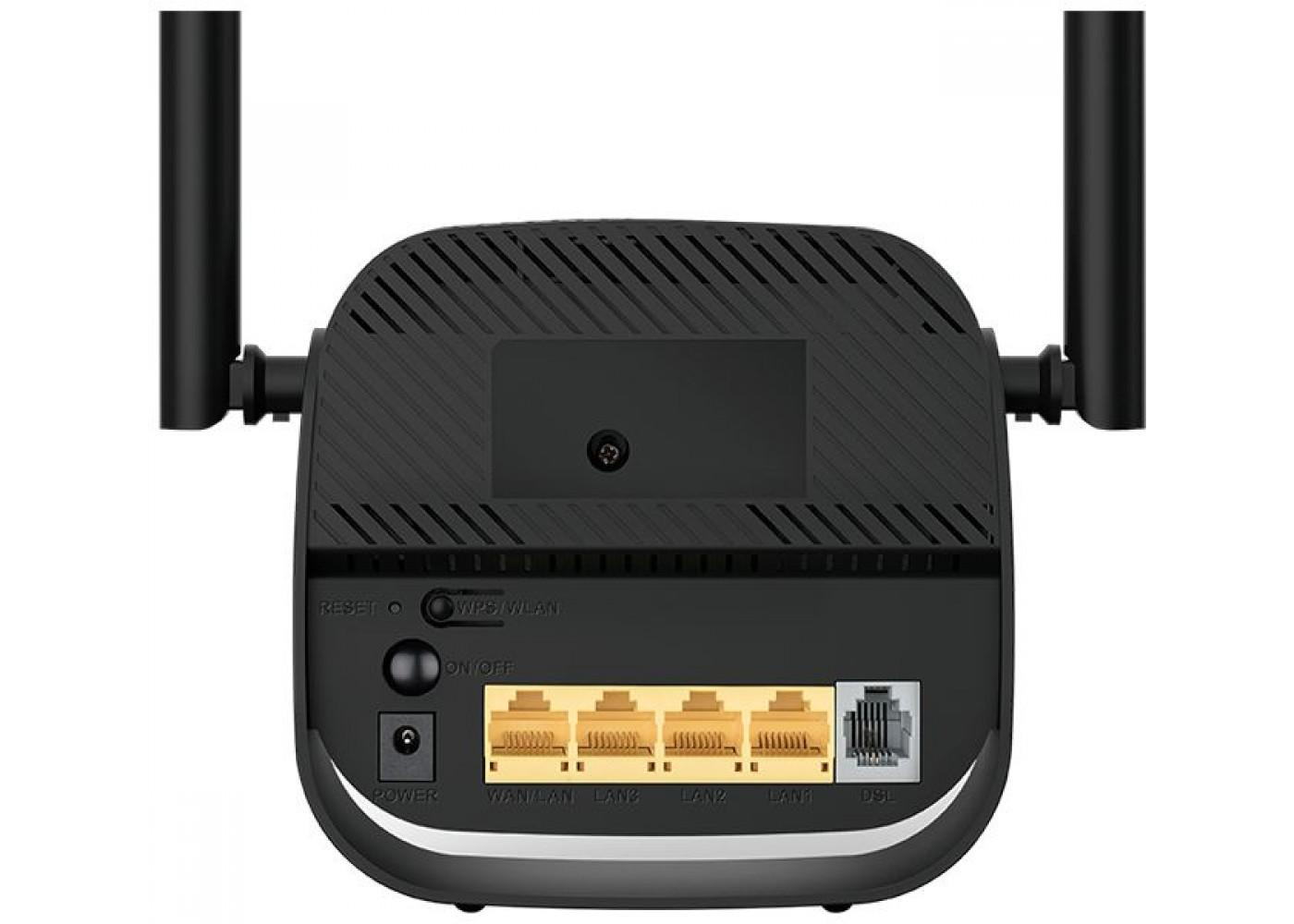 Роутер беспроводной D-Link DSL-2750U