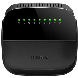 Роутер беспроводной D-Link DSL-2640U/R1A