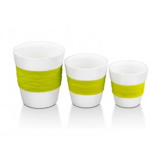 Набор стаканов для кофе Oursson TW89552/GA (Зеленое яблоко)