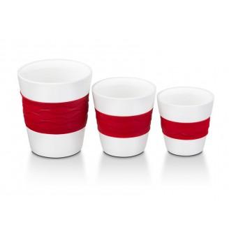 Набор стаканов для кофе Oursson TW89553/RD (Красный)