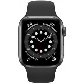 Смарт-часы APPLE Watch Series 6 44мм, серый космос