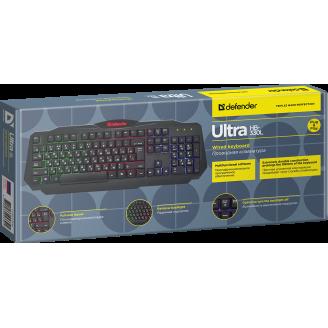 Клавиатура проводная Defender Ultra HB-330L