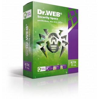 Программное Обеспечение DR.Web Security Space 1PC