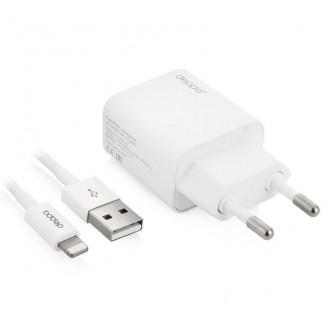 Сетевое зарядное устройство Smart Buy VOLT 2 USB, 3.1A +  кабель USB  Графит