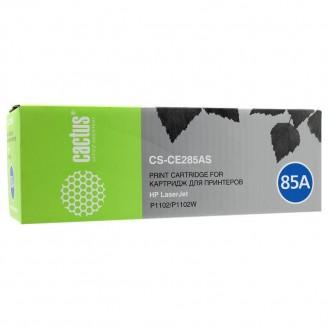 Картридж CACTUS CS-CE285AS черный