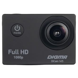 Экшен камера DIGMA Dikam 145