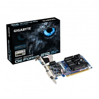 Видеокарта GIGABYTE PCE-E GT 210 1Gb