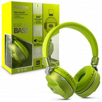 Наушники беспроводные Karler Bass 360 Bluetooth