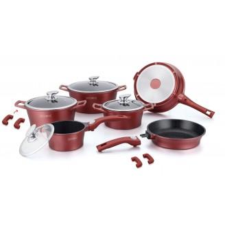 Набор посуды MARBLE COFTING RL-ES2014M