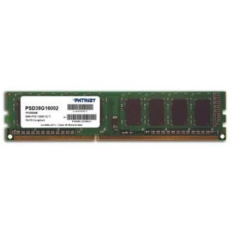 Модуль памяти PATRIOT XMS3 DHX PSD38G16002 DDR3 8Гб