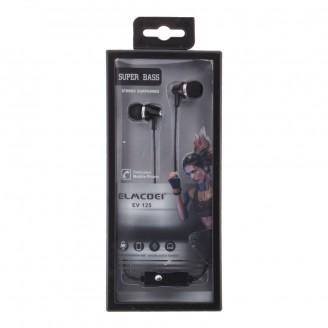 Наушники ELMCOEI KR-201 длина кабеля 1,2м, микрофон