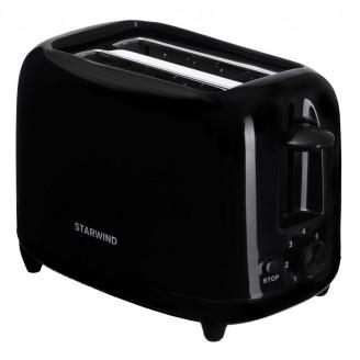 Тостер Starwind ST7002 700Вт черный
