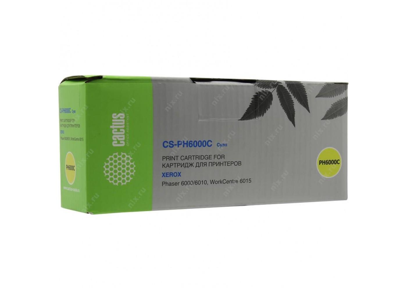 Картридж CACTUS CS-PH6000C