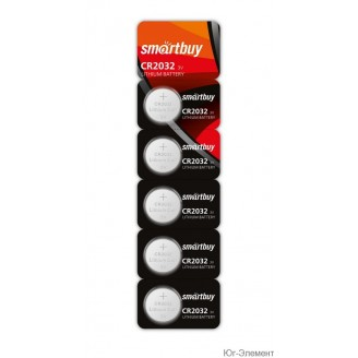 Батарейка SmartBuy CR2032 SBBL-2032-1B