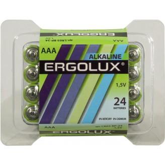 Батарейки Ergolux LR03-BP-24 AAA