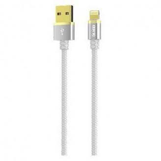 Кабель OLMIO DELUXE USB 2.0 - microUSB  белый