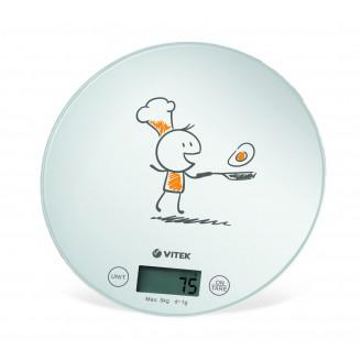 Весы кухонные электронные VITEK VT-8018 (W)
