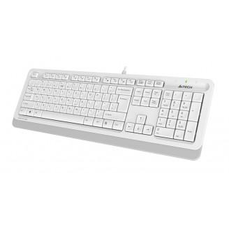 Клавиатура A4Tech Fstyler FK10 White