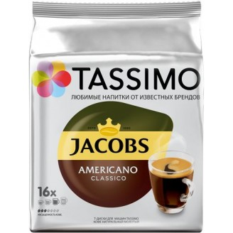 Капсулы T-Диски Tassimo JACOBS americano classico