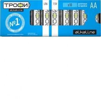 Батарейка Трофи LR06 AA
