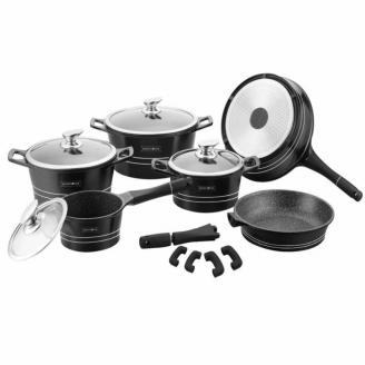 Набор посуды MARBLE COFTING RL-ES1014M