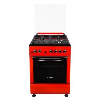 Кухонная плита il Monte FO-GE6012 RED LUXE