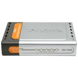 Коммутатор D-Link DES-1005D 5 x Ethernet