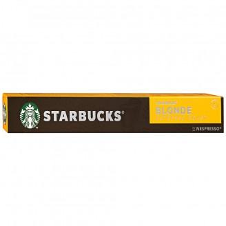 Капсулы Starbucks Blonde Espres 10шт