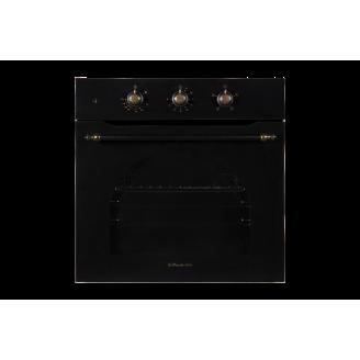 Встраиваемый духовой шкаф электрический il Monte BO-66 MK BLACK RUSTICO