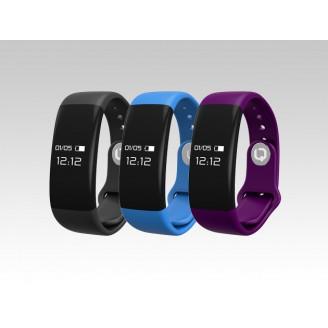 Фитнес-браслет BQ W008 влагозащищенный, уведомление о вход.звонке, совместимость с Android, iOS