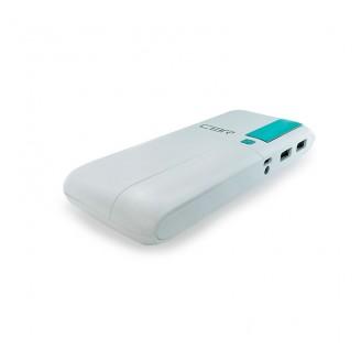 Внешний аккумулятор CBR CBP 4100 фонарик, 10000mAh White