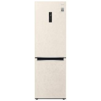 Холодильник LG GA-B459MEQM бежевый