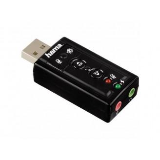 Звуковая карта Hama USB H-51620