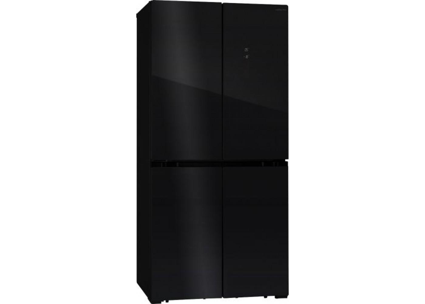 Холодильник HIBERG RFQ-490DX NFB черный